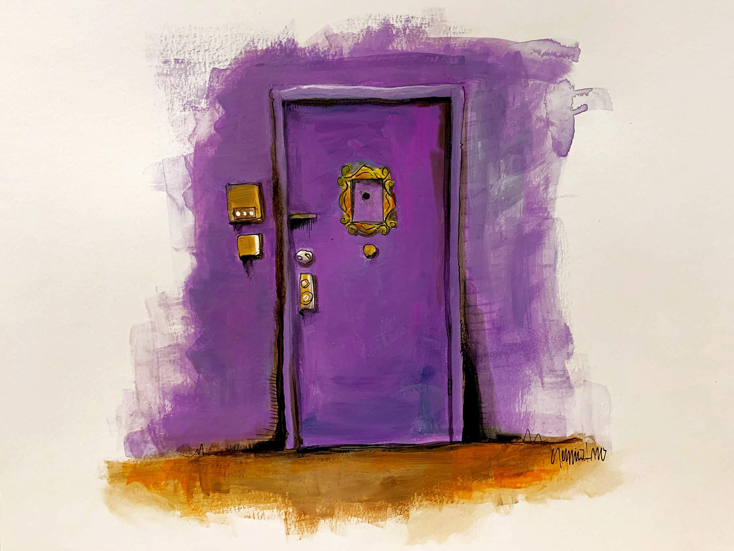Purple Door by
