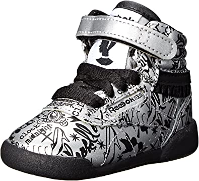 Little Kid Reebok Cinderella Freestyle Hi PS Shoe