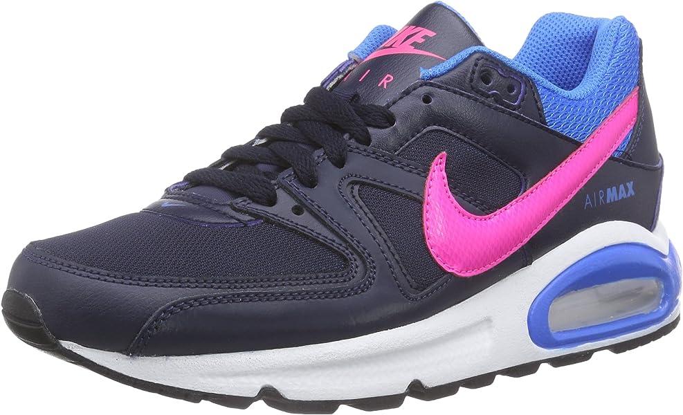 sports shoes c737d 61c9f Nike Air Max Command (GS), Baskets Basses Mixte Enfant, Schwarz (Obsidian