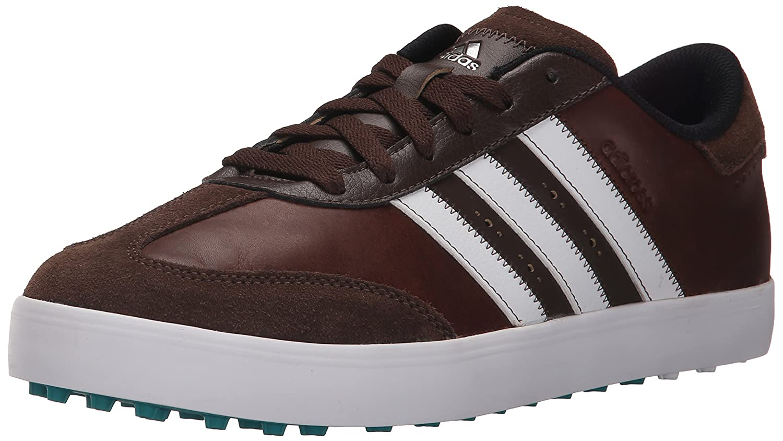 adidas Men's Adicross V WD Golf Spikeless B013UCLN00 8 W US|Brown/White/Eqt Green