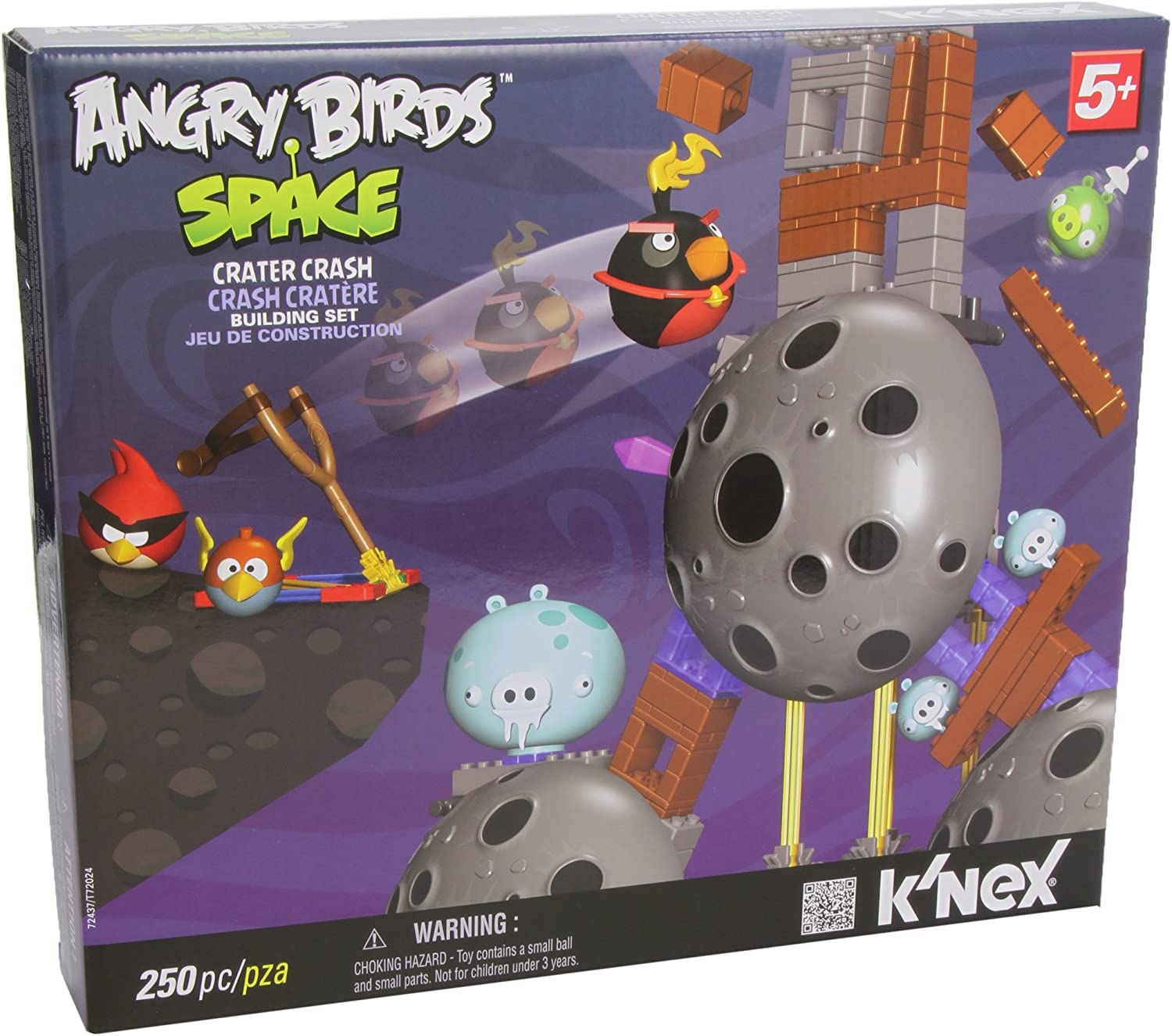 New Lot of 2 Angry Birds K/'nex Figure Easter