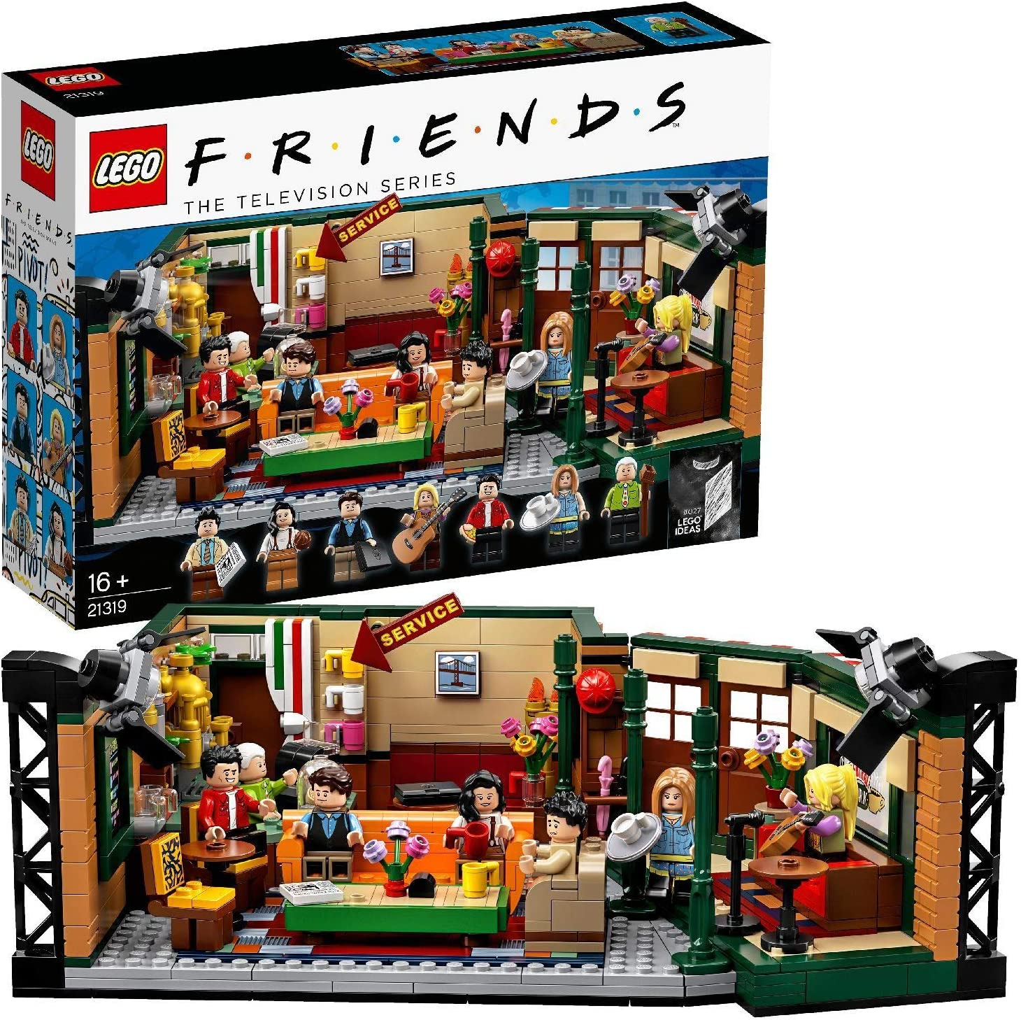 LEGO Ideas - Central Perk, set de construcción, set de la ...