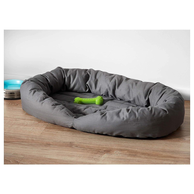IKEA ASIA LURVIG Cama para Perro de Gato, Color Gris: Amazon.es: Productos para mascotas