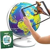 Orboot Dinos AR Globe by PlayShifu (App Based) - World of Dinosaur Toys, Educational Toy for Kids. Gift for Boys & Girls 4 Ye