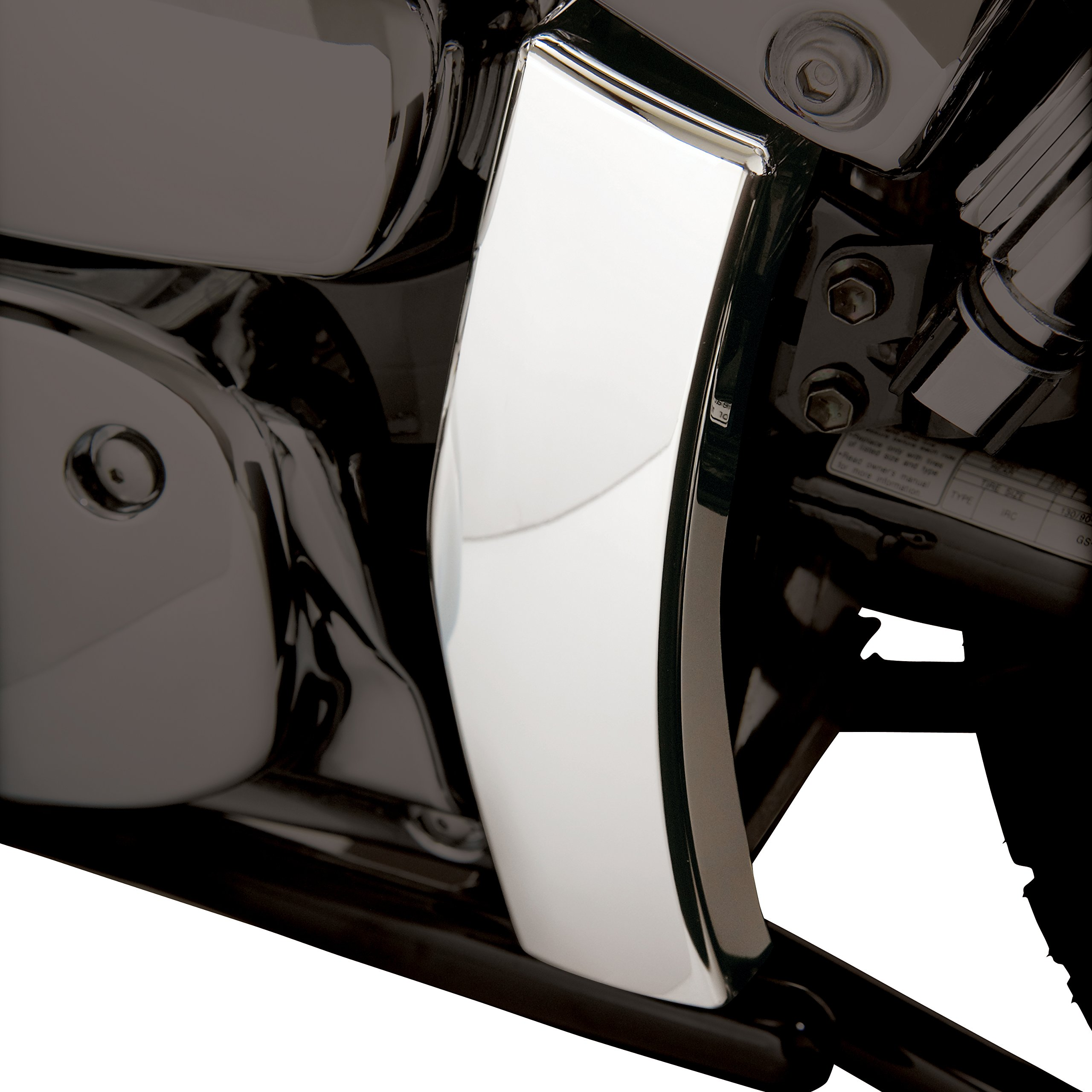 Show Chrome Accessories 82-216 Swing Arm Cover by Show Chrome Accessories (Image #2)