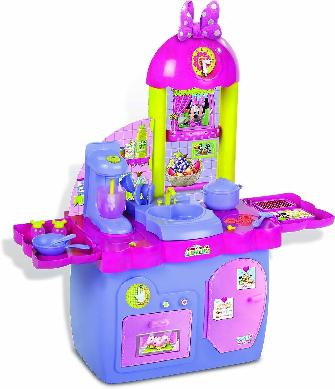 IMC Toys - Cocina Minnie 3 En 1 (Cocinar Comer Y Lavar) C/ 18 Accesorios 43-180437: Amazon.es: Juguetes y juegos