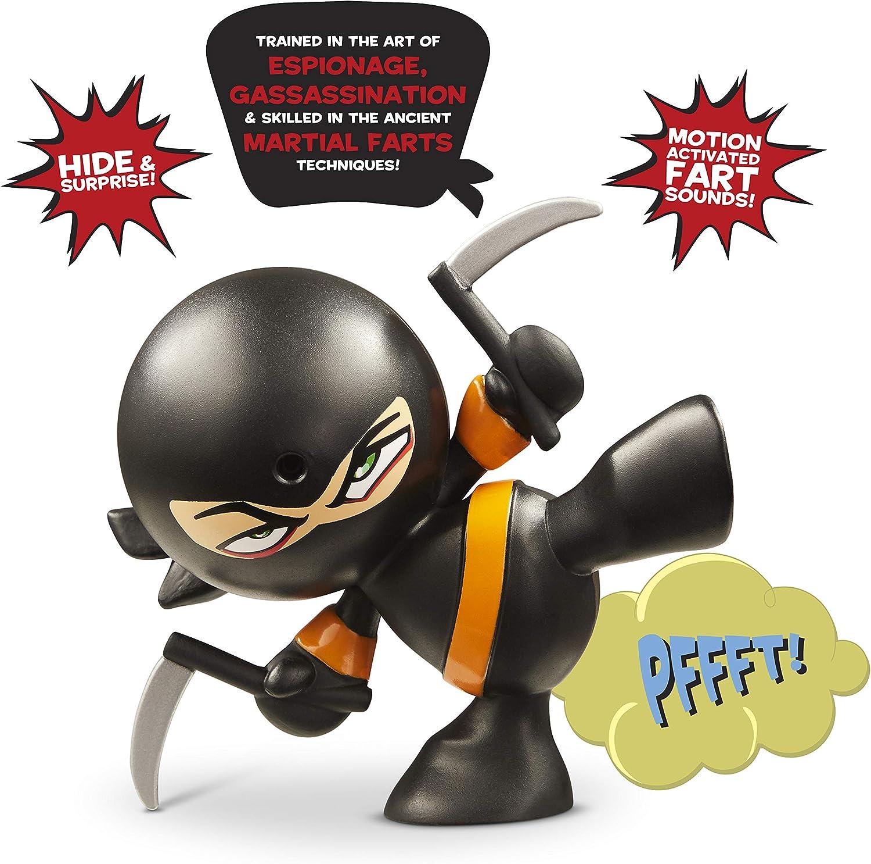 Fart Ninja Kung Pi Yew (Black/Orange)