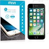 Mivi iPhone 7 Tempered Glass with Military Grade Anti-Scratch [3D Touch Compatible]