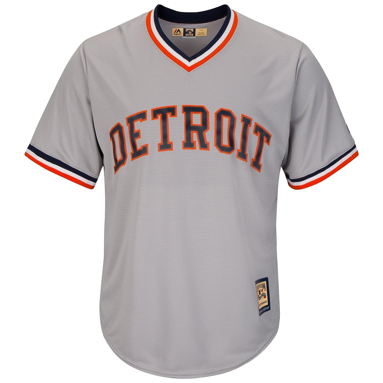 97967dca7b8 Amazon.com  Majestic Detroit Tigers Al Kaline MLB Men s Cooperstown Jersey  Large  Clothing