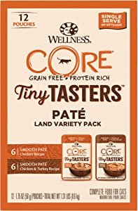 Wellness CORE Tiny Tasters Variety Pack (Pack of 12)