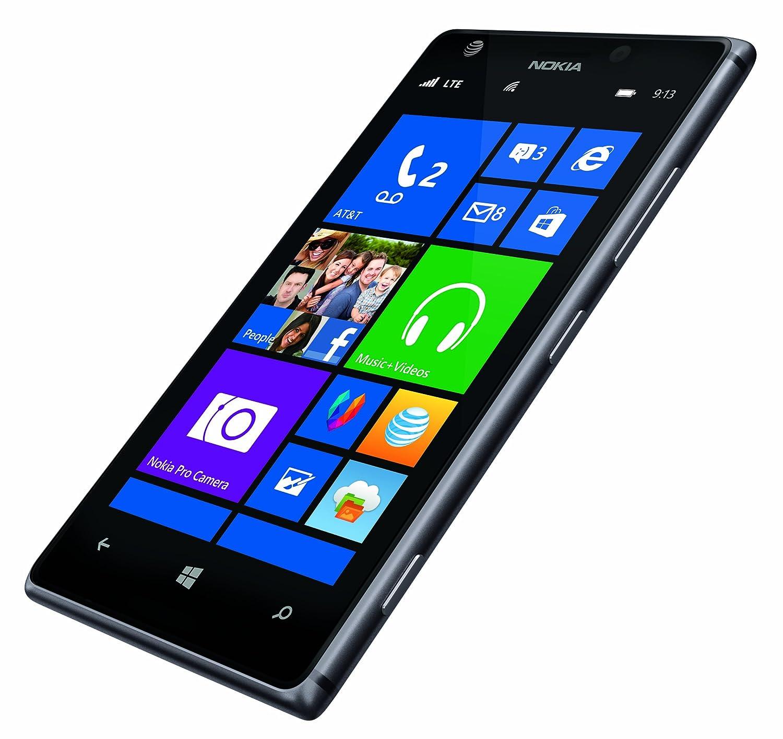 Amazon Com Nokia Lumia Black At T Cell Phones