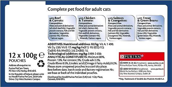 Felix As Good As It Looks Cat Food Ocean Feasts 4 x 12 x 100g ...