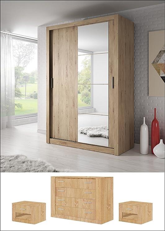 Arthauss Set de Dormitorio Moderno Arti 4 2 Puerta corredera ...