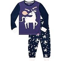 Harry Bear Pijamas para Niñas Ajuste Ceñido Unicornio