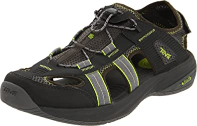 Teva Men's Churnium Water Shoe, Gunmetal, 7 M US: Buy Online