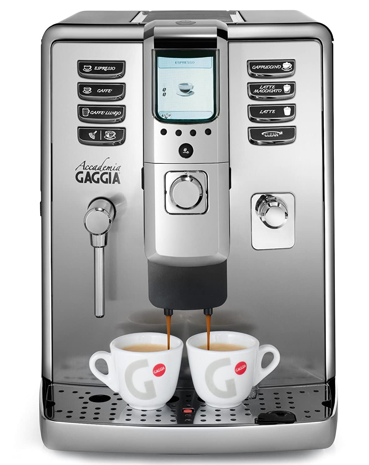 High Quality Gaggia Accademia RI9702/04 Bean To Cup Espresso And Cappuccino Coffee  Machine   Silver: Amazon.co.uk: Kitchen U0026 Home Great Pictures