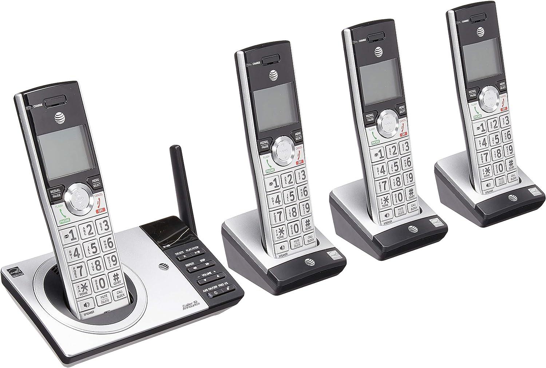 Att DECT 6.0 Teléfono inalámbrico con Sistema de Respuesta Digital, cl82415, 4 terminales: Amazon.es: Electrónica