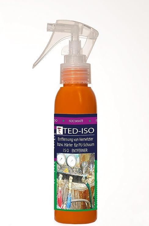 ISO purifcador, ENFERNER para ISO - isocianatos (S, G, ISO, goma de, más para PU - espuma) TEDGAR-ISO 100 ml: Amazon.es: Bricolaje y herramientas