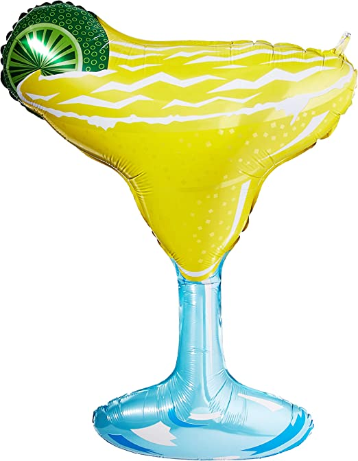 "36/"" Margarita Glass Mylar Foil Balloon Party Decorating Supplies"