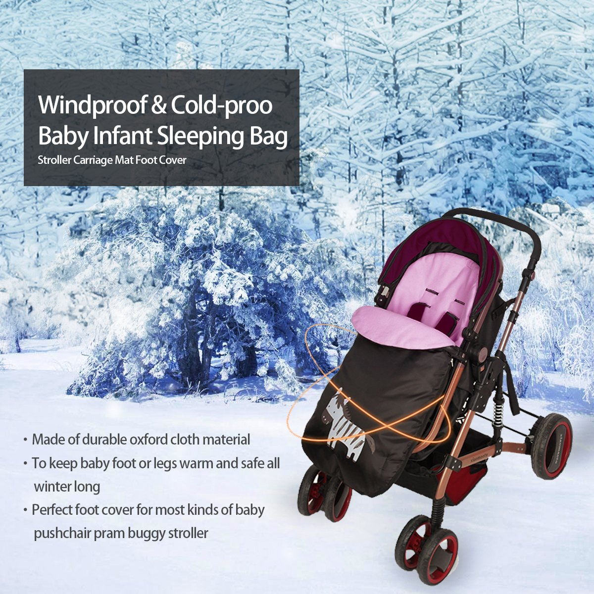 amazon com lemonda universal windproof infant baby stroller