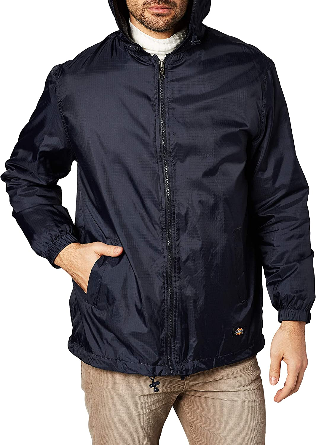 Dickies Mens Fleece-Lined Hooded Jacket