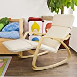 Haotian Comfortable Relax Rocking Chair with Foot
