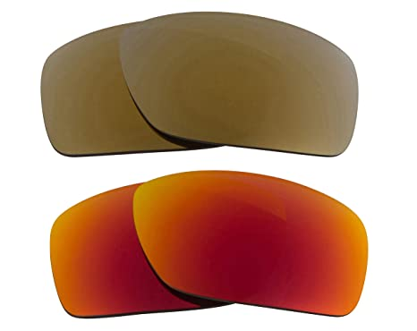 38f1c87a51 Image Unavailable. Image not available for. Color  CANTEEN OO9225  Replacement Lenses Polarized Red ...