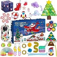 Fidget Advent Calendar 2021 Toy Pack Christmas Advent Calendar Fidget Toy Pack Stress Relief Fidget Box Party Favor…