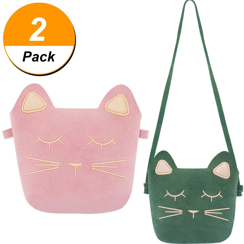 f0fd833266dd TOODOO Little Girls Purses Cute Cat Ears Girl Crossbody Shoulder Bag for  Kids