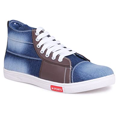 30696a77733db5 YAHE Men's Casual Denim Sneaker Shoes Y-4419: Buy Online at Low Prices in  India - Amazon.in