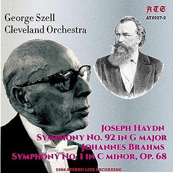ジョージ・セル指揮クリーヴランド管 ハイドン:交響曲第92番「オクスフォード」 ブラームス:交響曲第1番