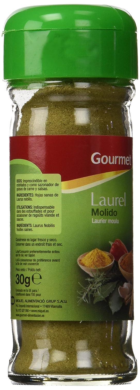 Gourmet - Laurel Molido - Sazonador - 30 g: Amazon.es: Alimentación y bebidas