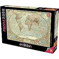 Anatolian Puzzle Dünya Haritası 2000 Parça Kod 3938
