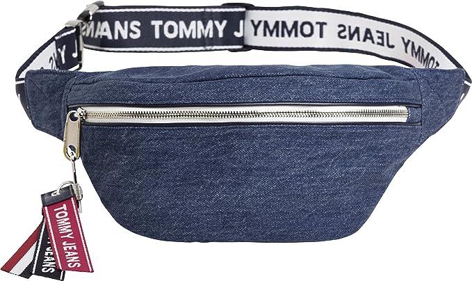 Tommy Hilfiger TJU Logo Tape BumBag Denim: Amazon.es: Zapatos y complementos