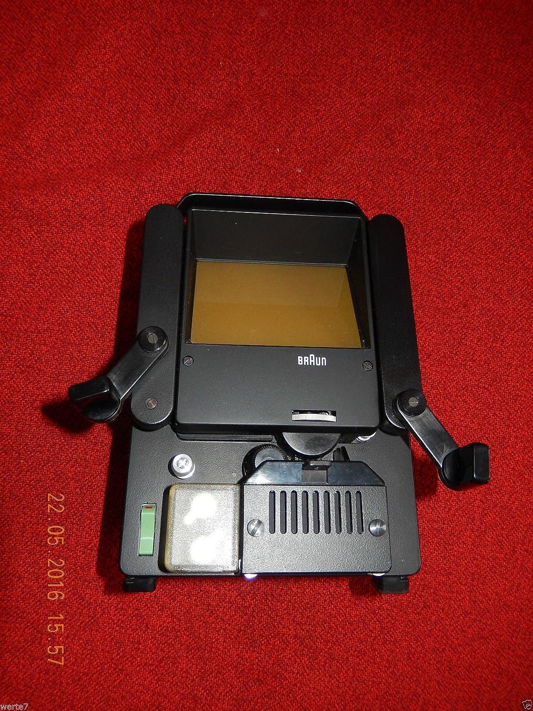 BRAUN Typ:SB1 Filmbetrachter mit Lampe 6A//10W FUNKTIONSF/ÄHIG gepr/üft Top ZUSTAND