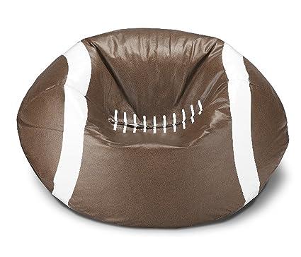 Amazing Michael Anthony Furniture Football Matte Bean Bag (1)