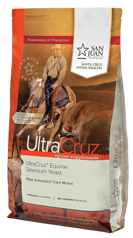 UltraCruz Equine Selenium Yeast Supplement for Horses, 10 lb, Pellet (80 Day Supply)