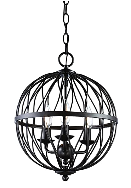 Trans Globe Lighting 70672 Rob Sequoia Indoor Rubbed Oil Bronze