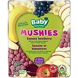Baby Gourmet Organic Mushies Fruit Snack - Banana Beetberry - No Added Sugar or Salt, Non GMO, Gluten Free, Nut Free, No…