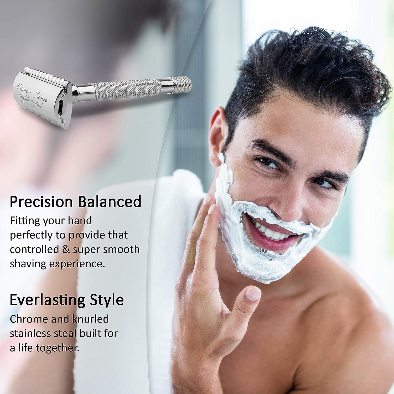 Earnest Men Manual Back Hair Shaver Plastic Long Handle Razor For All Body Parts Hair Blade Blue Home Appliances