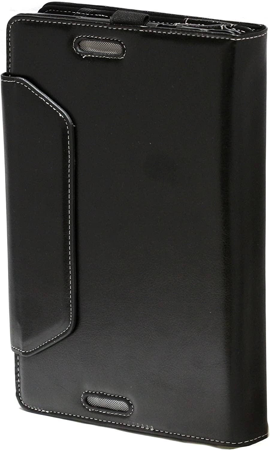 Navitech Black Faux Leather Folio Case Cover Sleeve For The Asus Transformer Book T300CHI-F1-DB