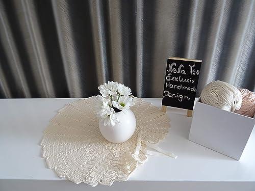 Velvet Romantic Dekoration Collection 102 Cream Häkeln