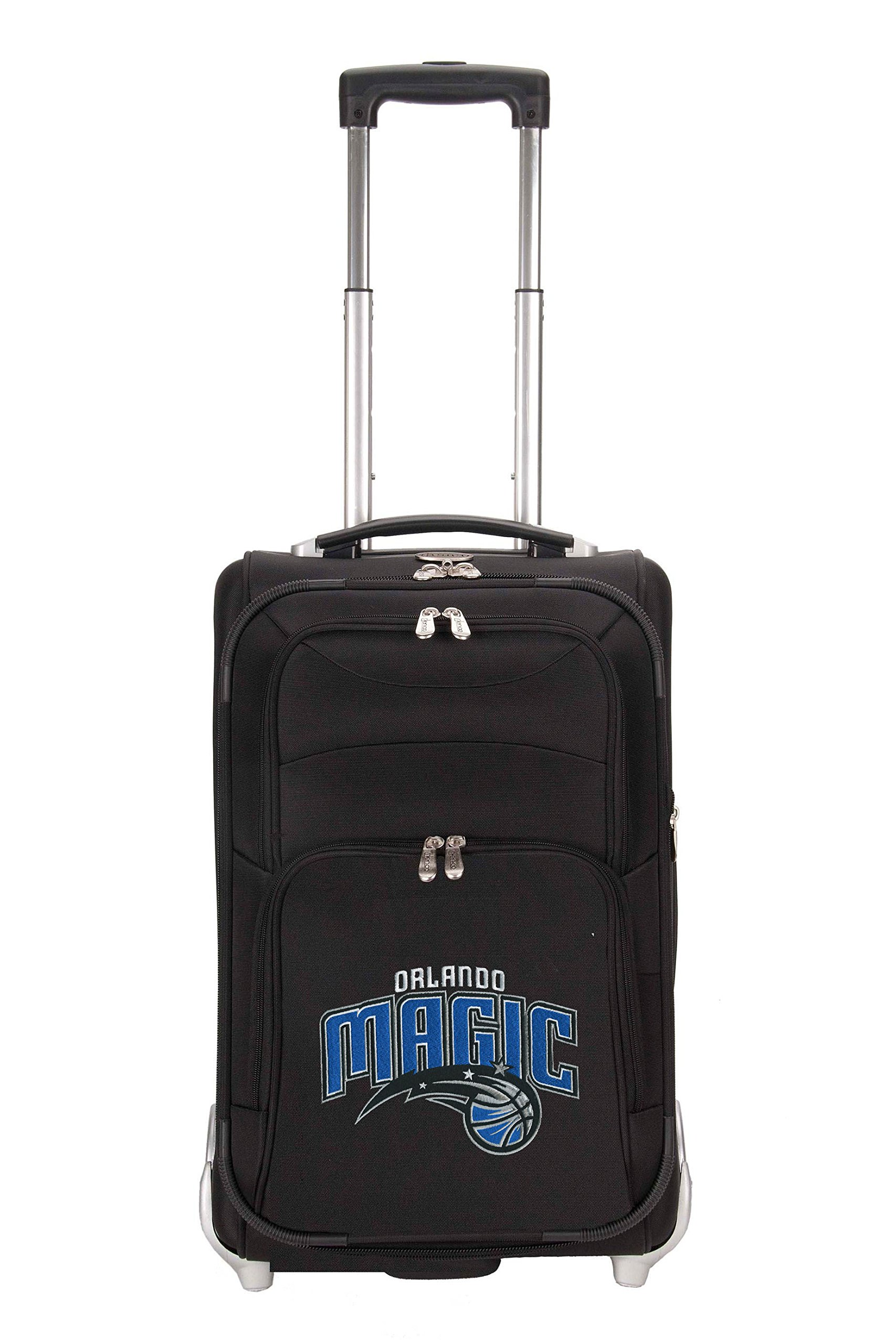 NBA Orlando Magic Denco 21-Inch Carry On Luggage, Black