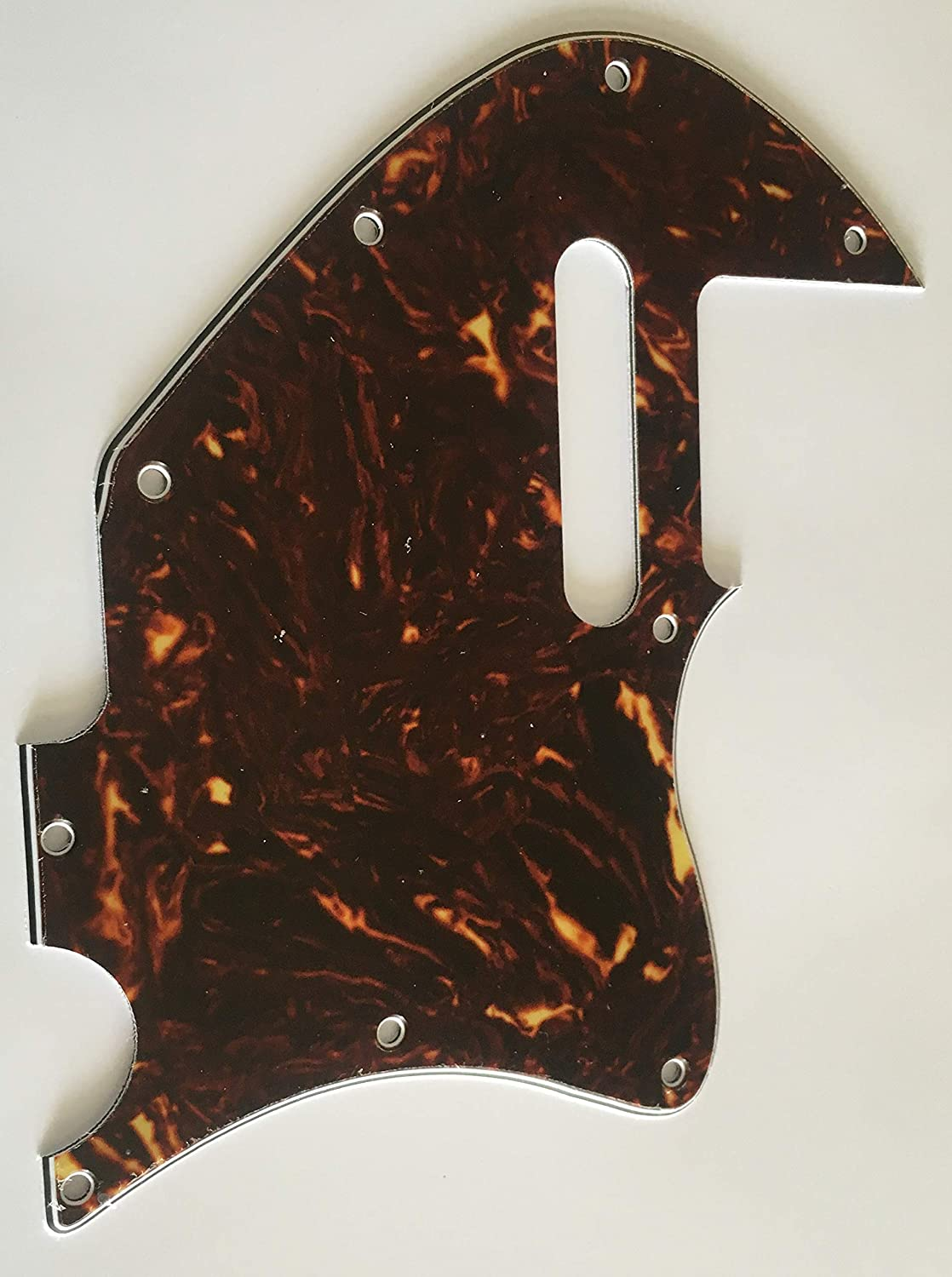 4 Ply White Pearl Electric Guitar Pickguard for Merle Haggard F Hole Thinline Style