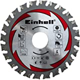 Einhell - Disco corte multi material para sierra circular (110 x 22,2 x 1,4 mm, 24 dientes, madera - metal)