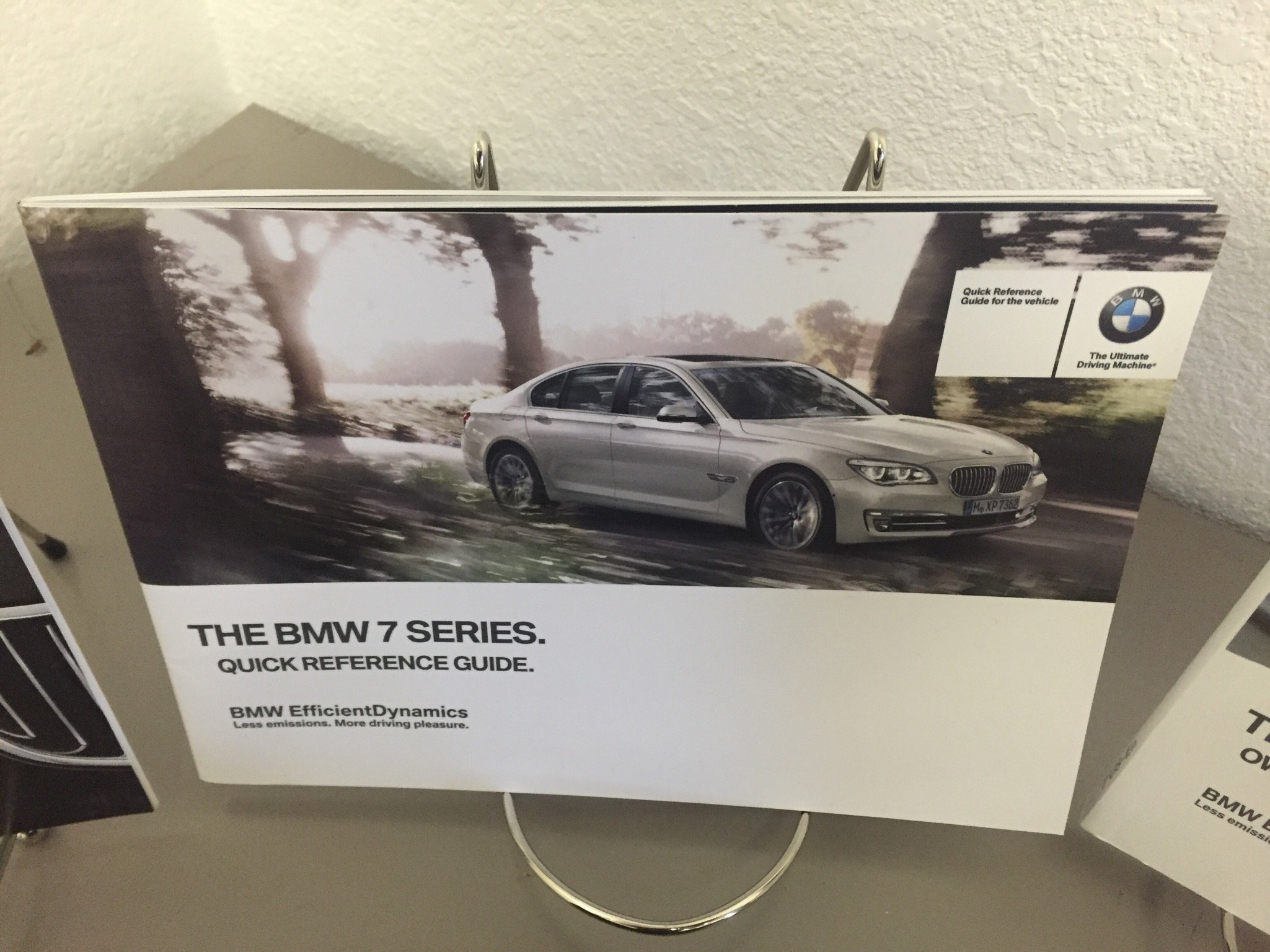 2014 BMW 7 SERIES SEDAN GENUINE OEM OWNER'S MANUAL FOR 740i 740Li 750i 760i  and xDrive MODELS: BMW: 0682821520631: Amazon.com: Books