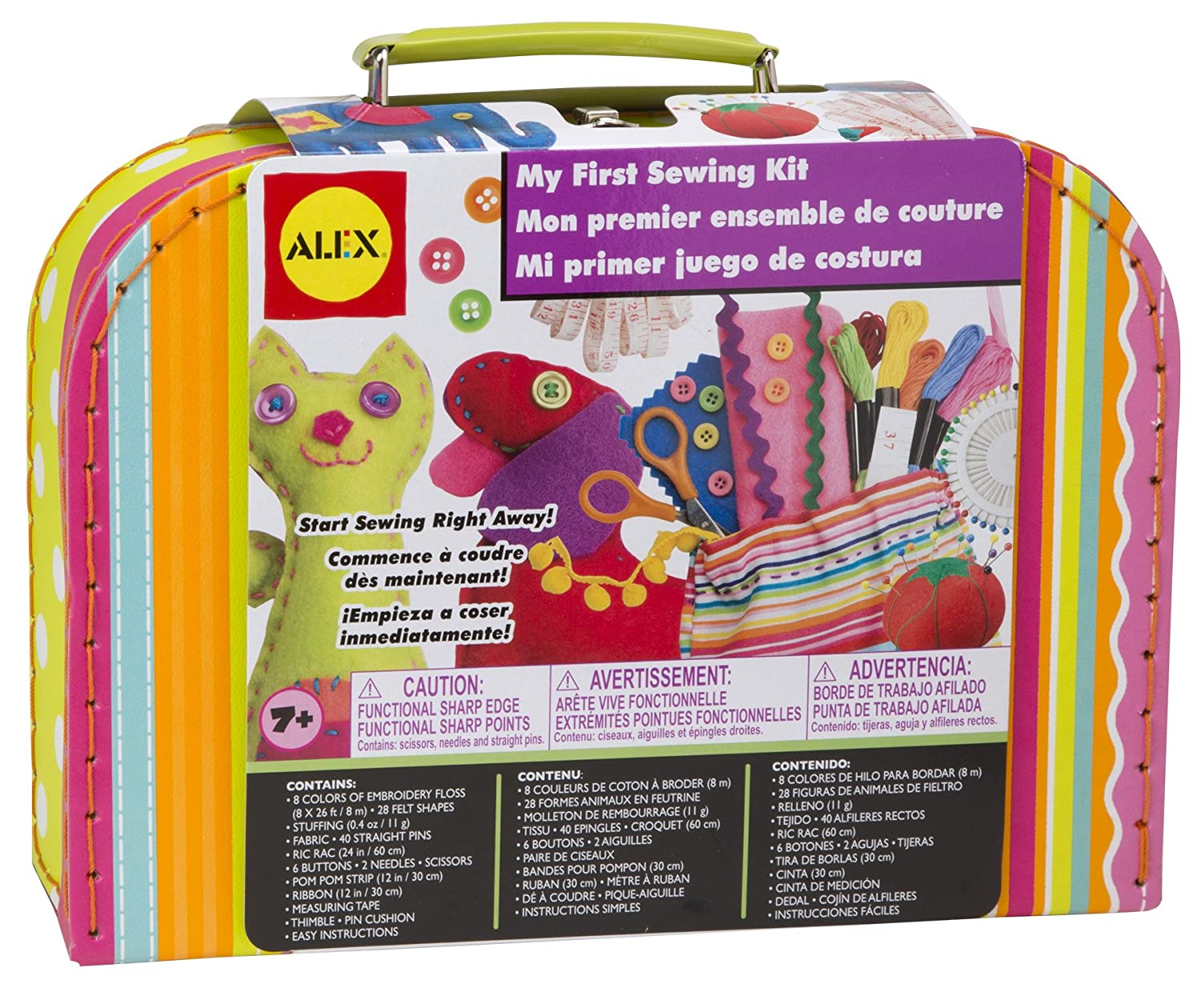 Amazon ALEX Toys Craft My First Sewing Kit Games