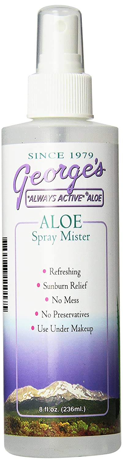 George's Aloe Vera Spray Mister, 8 Fluid Ounce