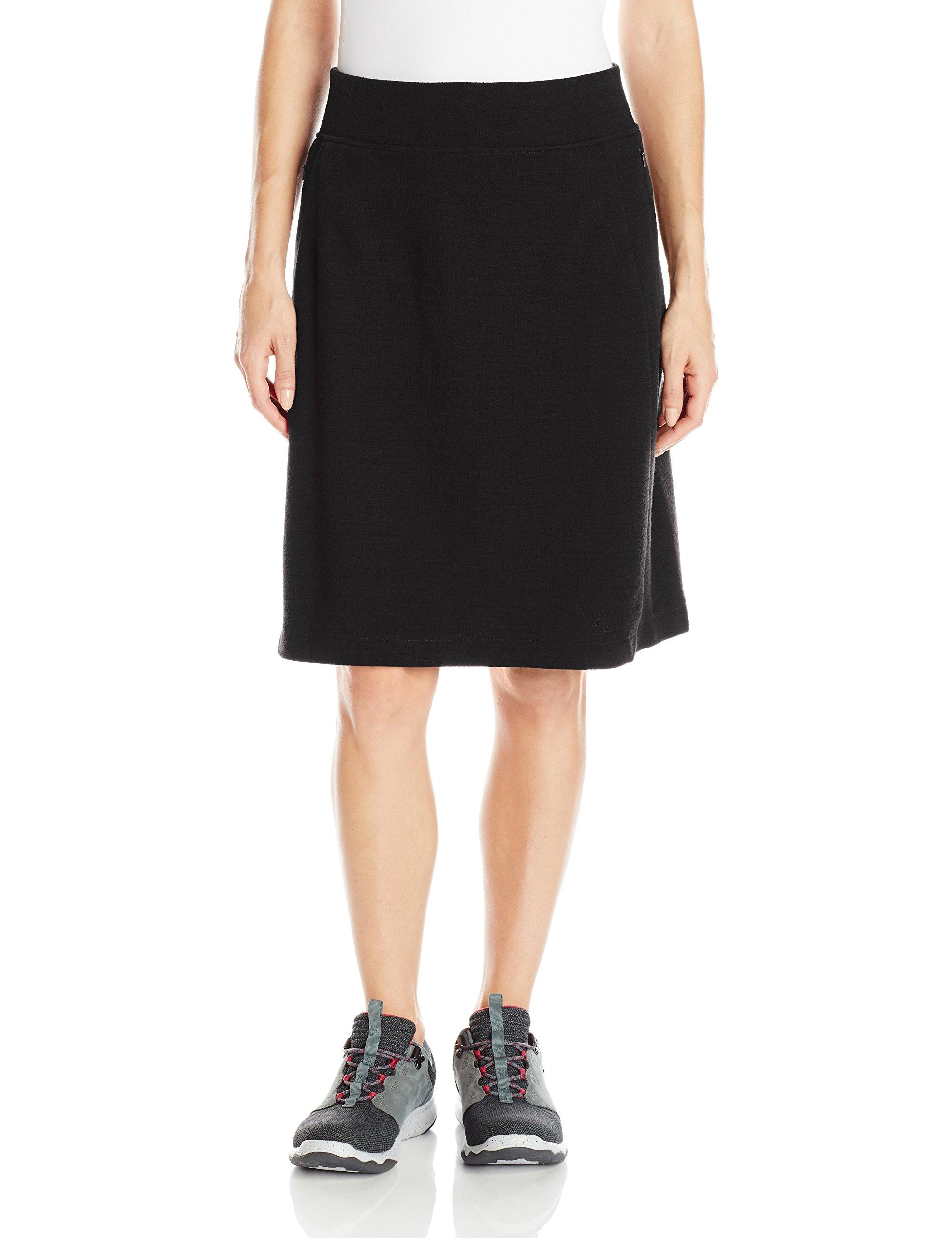 Ibex Outdoor Clothing Women's Izzi Skirt, Small, Black