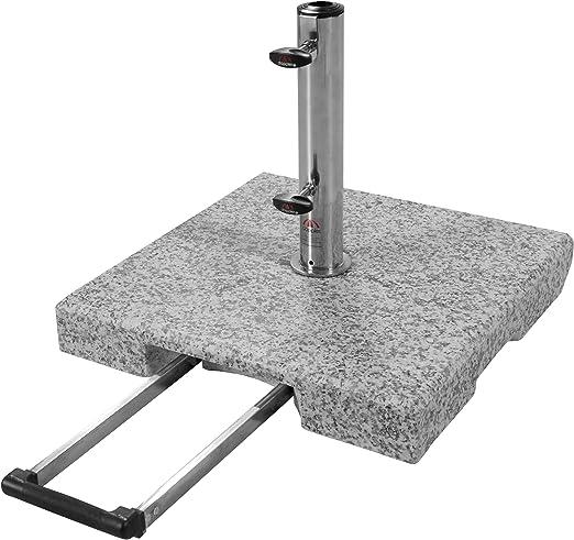 Doppler Base de Granito Active Trolley - 30 kg con asa extraíble y ...